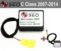 Mercedes  C W204 Front  Passenger Seat mat Occupancy Sensor, occupied recognition sensor  emulator / bypass
